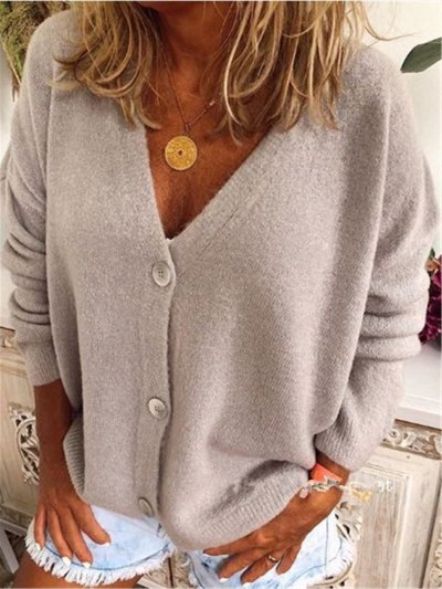 Long Sleeve Casual Outerwear