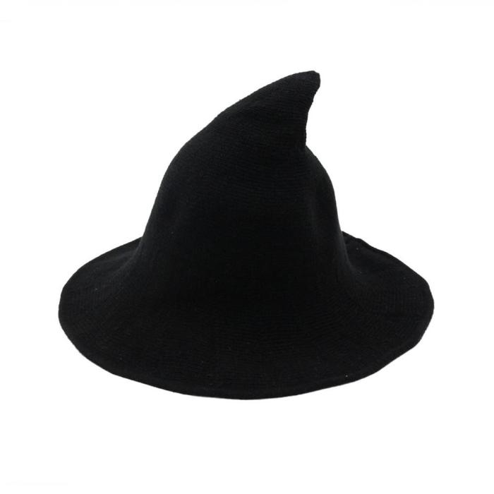 Halloween Witch Wool Hat