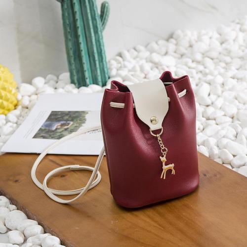 Bag - Women Casual Little Phone Purse PU Multi-functional Crossbody Shoulder Bag