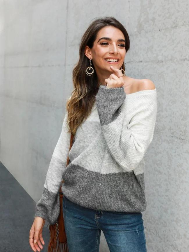 Long Sleeve Shift Sweater