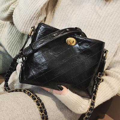 Chain Square Bag Shoulder Messenger Bag