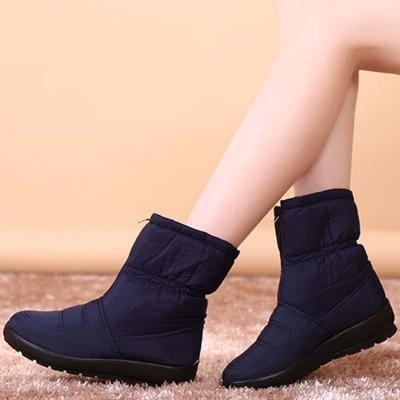 Women Snow Booties Casual Comfort Warm Shoes