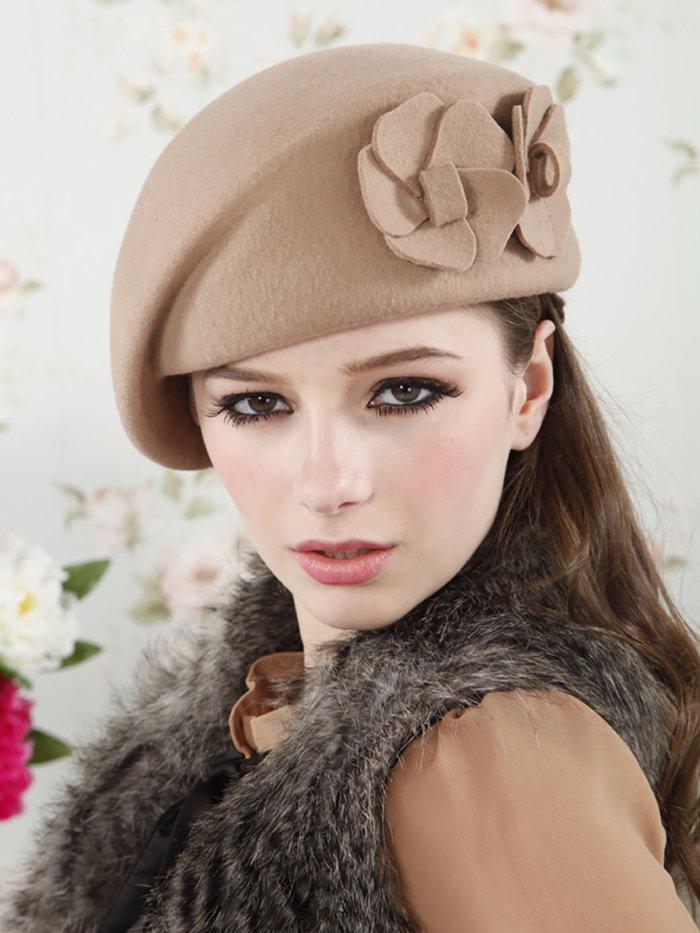 Floral Casual Belle Hat