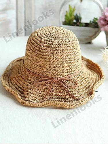 Big Eaves Female Summer Beach Hat Travel Sun Hat