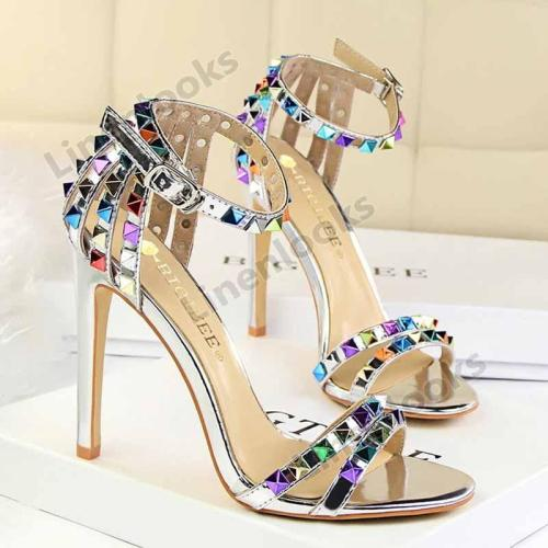Women's Shoes Stiletto High Heels Open Toe Sandals