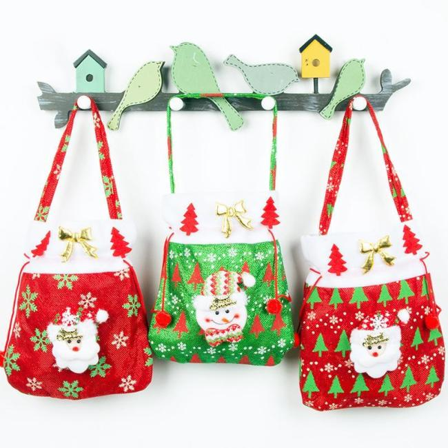 Christmas gift bag tote
