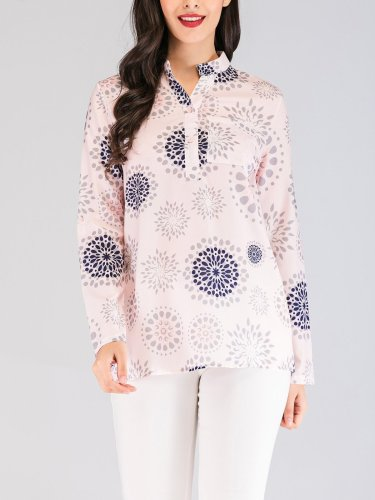 Linen 3/4 Sleeve Casual Shirts & Tops