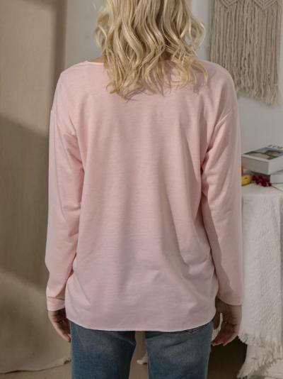 Gray Solid Casual Shirts & Tops