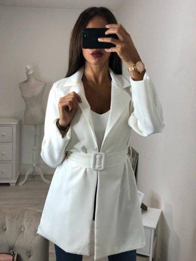 Shawl Collar Long Sleeve Vintage Blazers