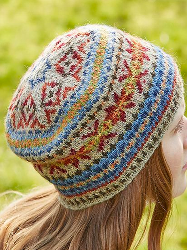 Casual Printed Knitted Hats