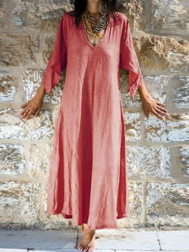 Big Hem Dress Casual Dresses