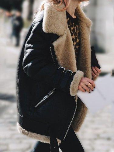 Long Sleeve Shawl Collar Vintage Jackets