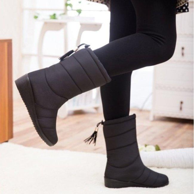 Women's Winter Waterproof Mid-Calf Boots