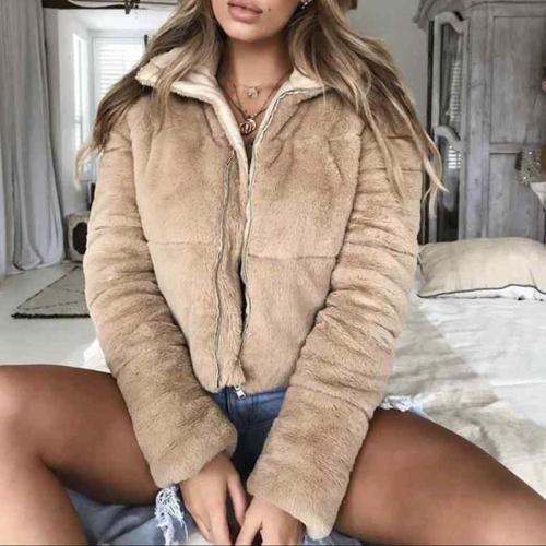 Winter New Short Woollen Thickened Coat