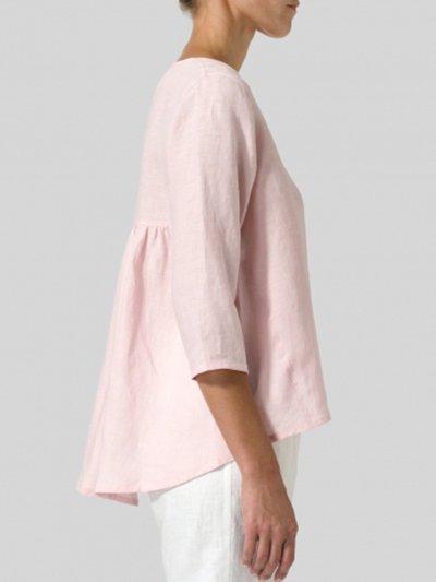 Women Casual Loose Tops Tunic Blouse Shirt
