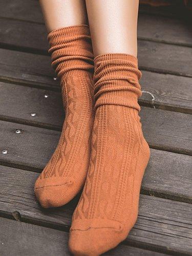 Women Warm Casual Breathable Cabin Socks