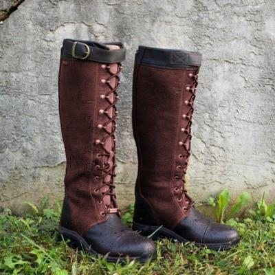 Women's Vintage Casual Leather Riding Boots