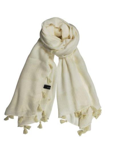 Cotton Linen Scarf Korean Tassel Wild Scarf