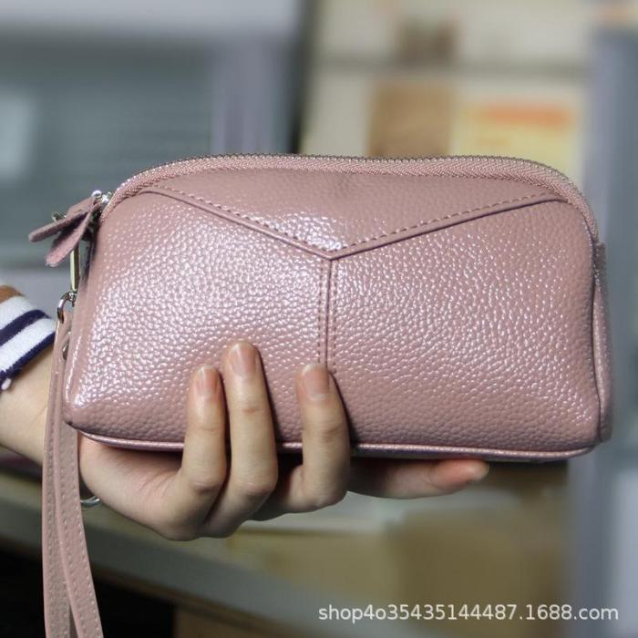 Women PU Leather Handbags Mini Phone Bag Card Coin Purse Clutch Bag