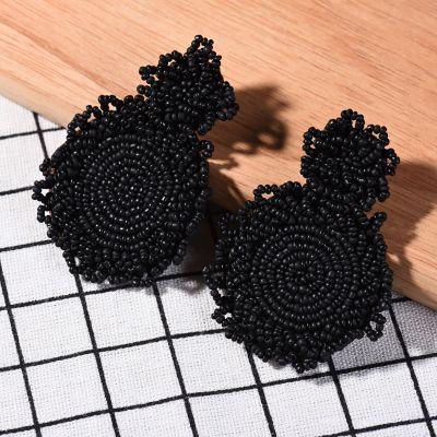 New Beads Earrings Streetwear Fashion Beads Earrings Female