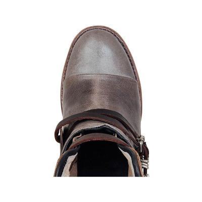 Solid Chunky High Heel Martin Boots