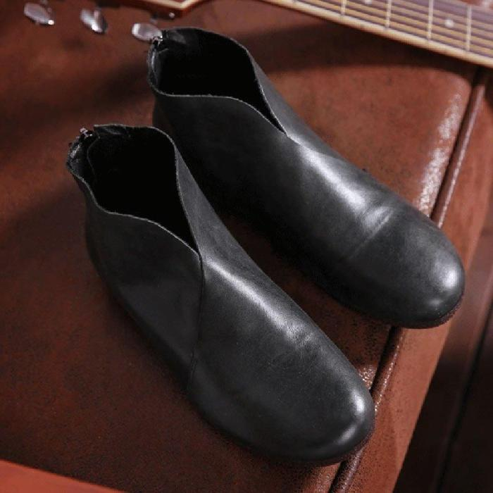 Flat Heel All Season Boots
