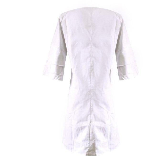 Summer Chiffon Dress 2020 Boho Style Beach Dress Fashion Short Sleeve V-neck Print A-line Party Dress Sundress