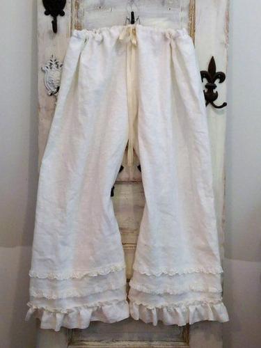 Linen Folds Pants