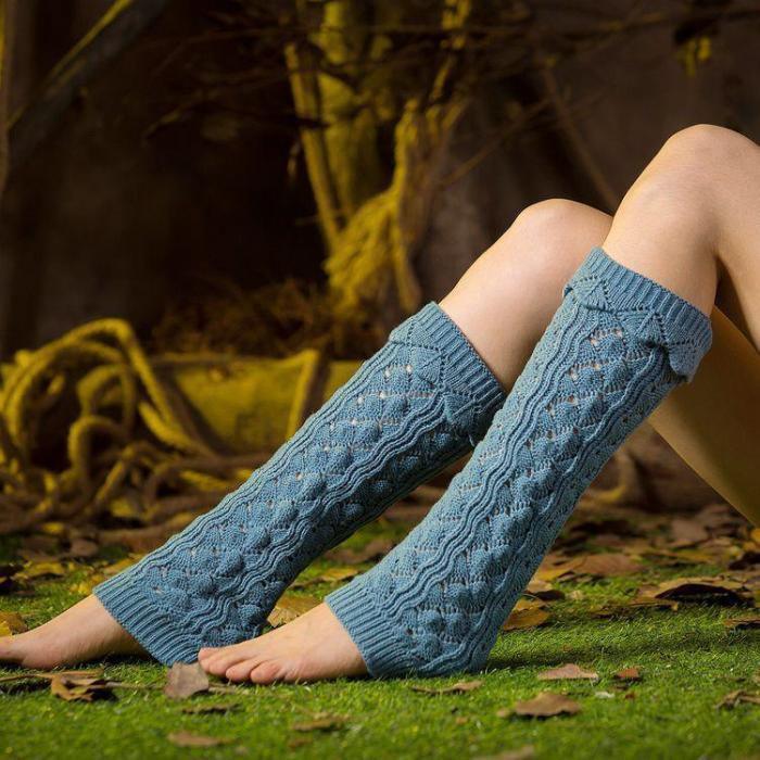 Over Knee Women Hollow Socks