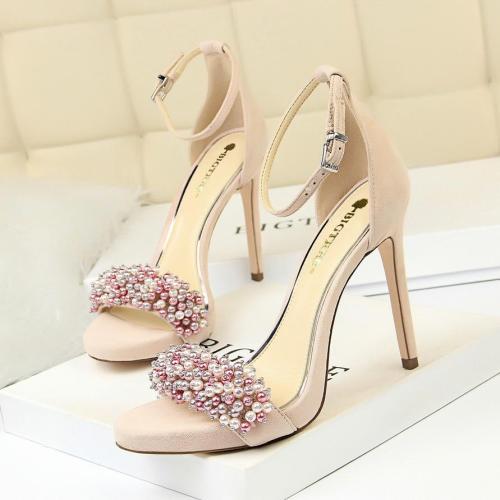 Women High Heels Sandals Open Toe Heels Platform Shoes