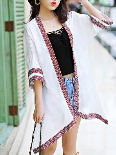 3/4 Sleeve Cotton Outerwear