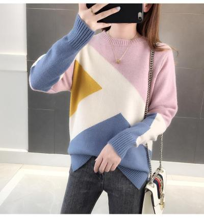 Winter Cropped Knitted Thick Oversized Sweaters