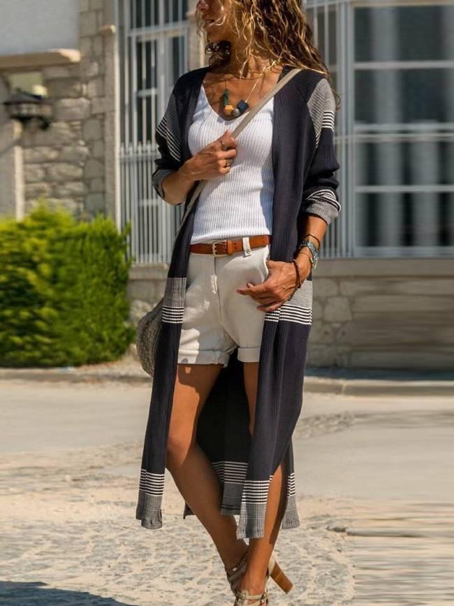 Black Vintage Cotton-Blend Outerwear