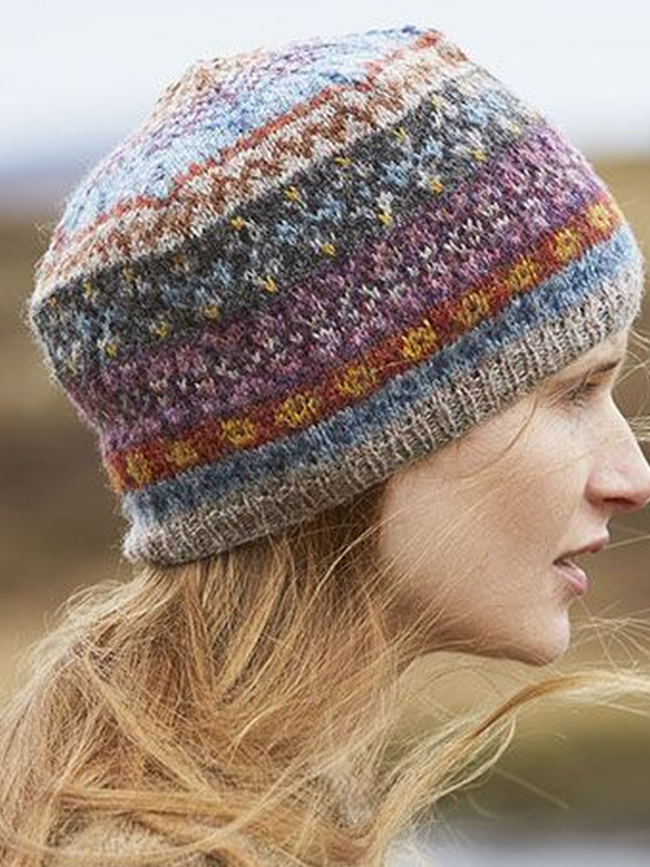 Casual Color-Block Knitted Hats