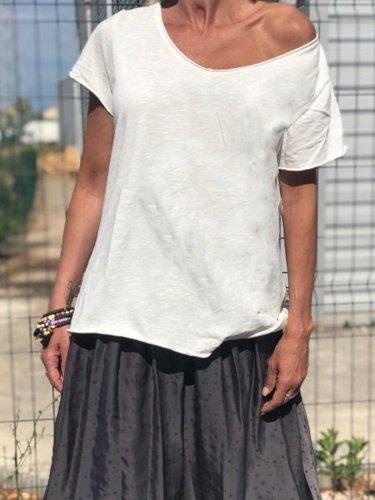 Summer Casual Tops Tunic T Shirt