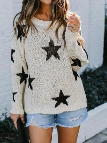 Long Sleeve Star Sweater
