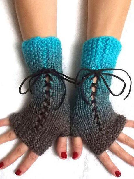 Orange Vintage Gloves & Mittens