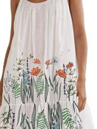 White Cotton Holiday Dresses