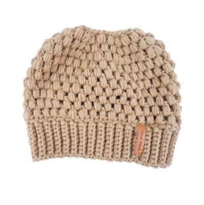 Winter Women Stretch Knit Hat