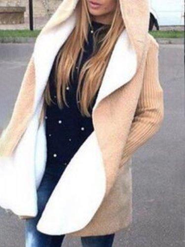 Cashmere Warm Jacket Female Loose Lrge Size Hoodie Long Cardigan