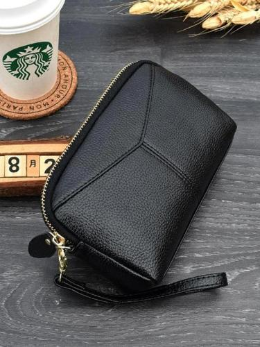Women PU Leather Handbags Mini Phone Bag Card Coin Purse Clutch Bag