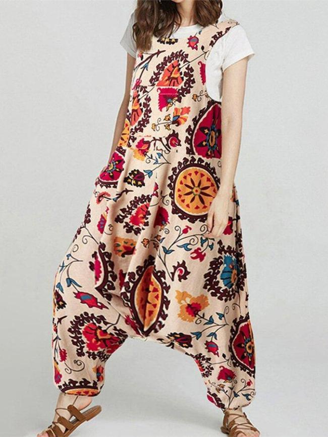 Flower Shift Work Floral One-Pieces