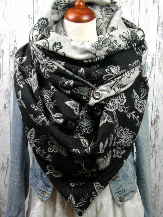 Casual Cotton Floral Scarves & Shawls
