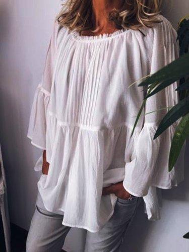 Long Sleeve Casual Shirts & Tops