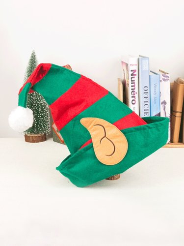 Christmas Elf Clown Hat