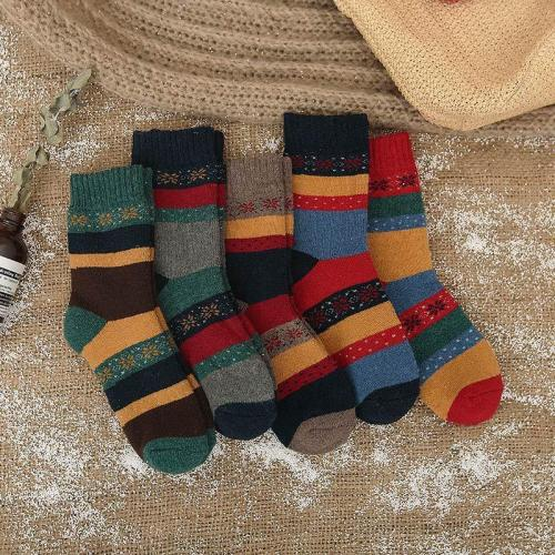 New Winter Thermal Cashmere Socks Women Warm Wool Socks