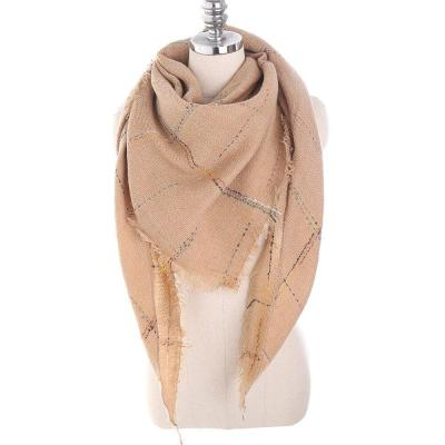 Fashion Woman Winter Scarf Solid Color Winter Warm Scarf Woman Shawl Knitted