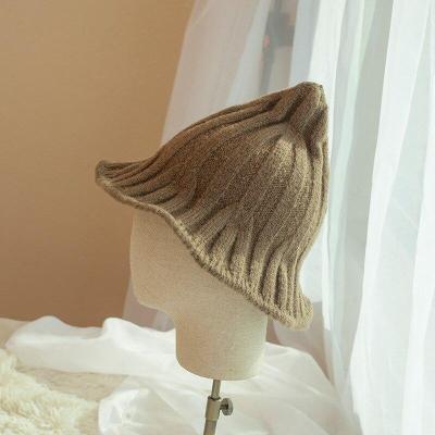 Wizard Hat Autumn Winter Plush Folding Halloween Hat
