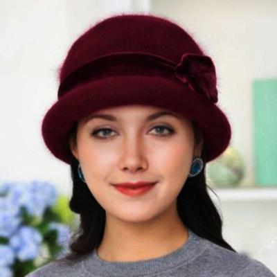 Vintage Angora-Blend  Winter Warm Hats