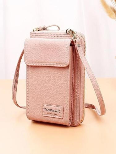 Women Large Capacity Multi-slots Phone Bag Long Wallet Clutch Bag